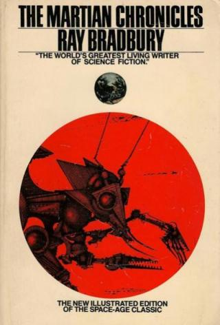The Martian Chronicles [Illustrated by Ian Miller]