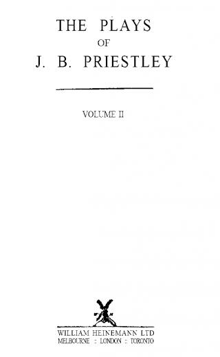 The Plays of J. B. Priestley - V.2
