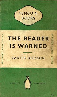 The Reader Is Warned