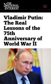 The Real Lessons of the 75th Anniversary of World War II