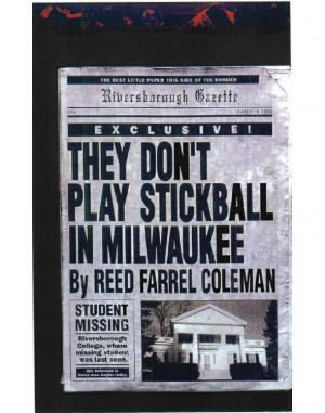 They Don't Play Stickball in Milwaukee