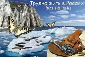 Трудно жить в России без нагана (СИ 7.01.2012)