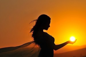 Ты - солнце (СИ)
