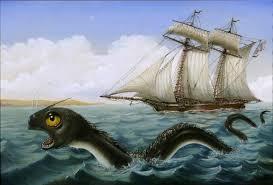 Великий морской змей или сельдяной король