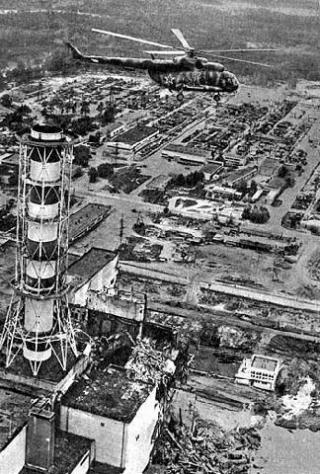 Вертолёты над Чернобылем