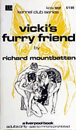 Vicki's furry friend