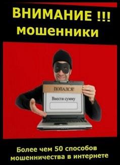 Внимание!!! Мошенники. Мошенничество в интернете (СИ)