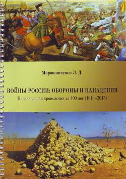 Войны России: обороны и нападения (участие в военных конфликтах). Параллельная хронология за 400 лет (1613–2015)
