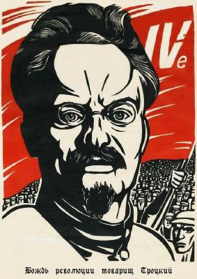 Вождь революции товарищ Троцкий [фотоальбом]