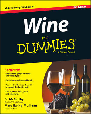 Wine For Dummies [5th Edition]