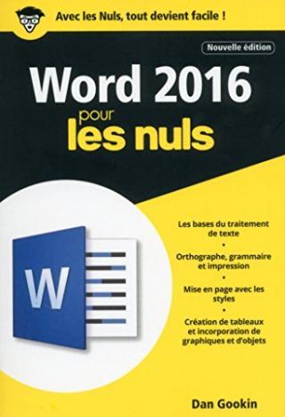 Word 2016 pour les Nuls [2e édition]