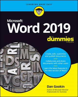 Word 2019 For Dummies®
