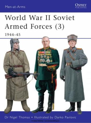 World War II Soviet Armed Forces (3) 1944-45