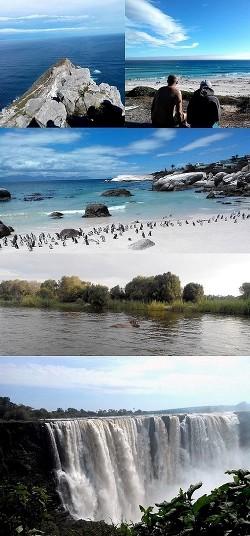Южная Африка и водопад Виктория