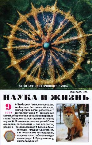 """Журнал """"Наука и Жизнь"""" 2008 №9"""