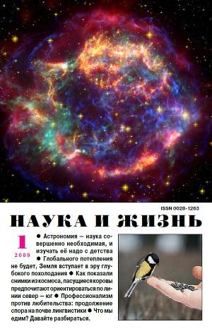 """Журнал """"Наука и Жизнь"""" 2009 №1"""